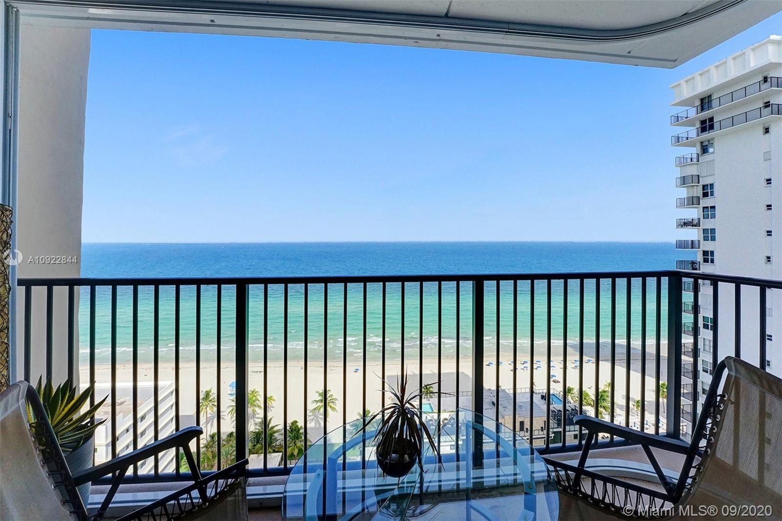 Breathaking direct ocean views as soon as you walk inside the unit and from everywhere. Large and br