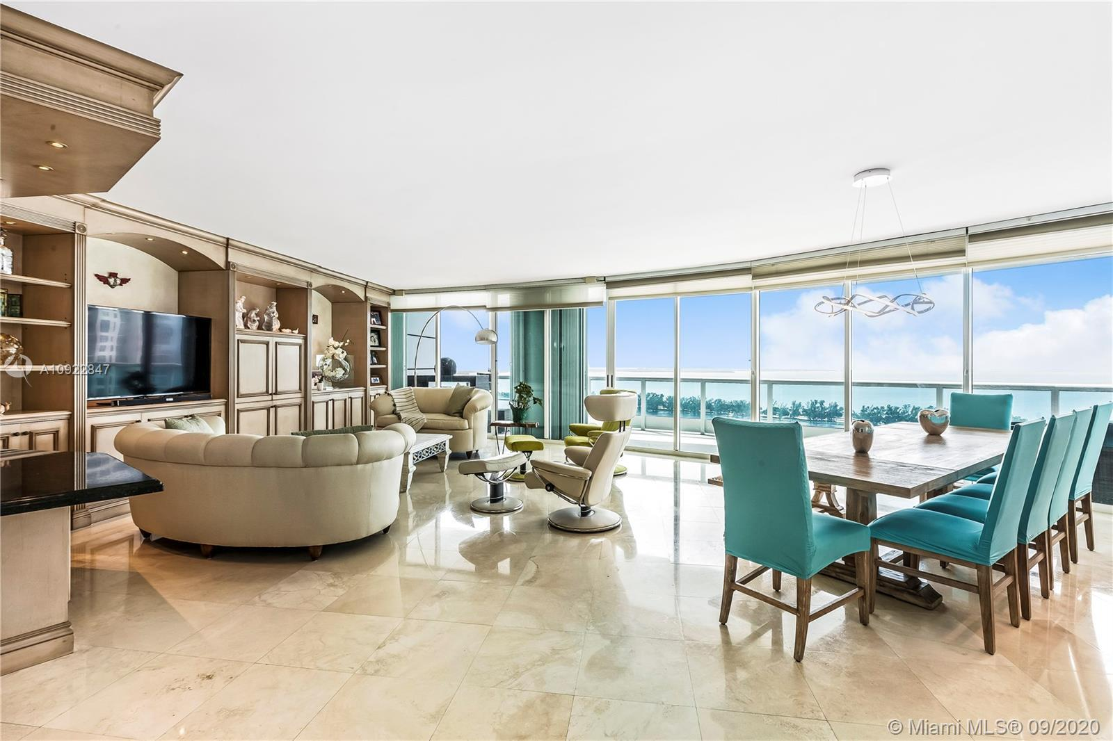 Bristol Tower is a 40-story luxury condominium located on Brickell Avenue overlooking Biscayne Bay.