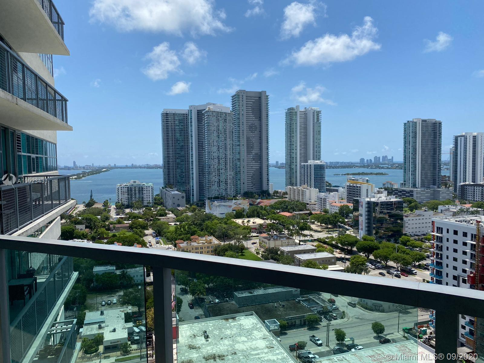 One of a kind 1 bedroom, 1 and 1/2 bathrooms apartment in Four Midtown.  Amazing partial water views