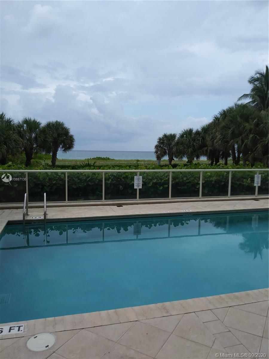 OCEAN AND CITY  VIEW CONDO 1 BED PLUS DEN 2 BATHS, BALCONY WITH GREAT POTENTIAL EXCELLENT SURFSIDE L