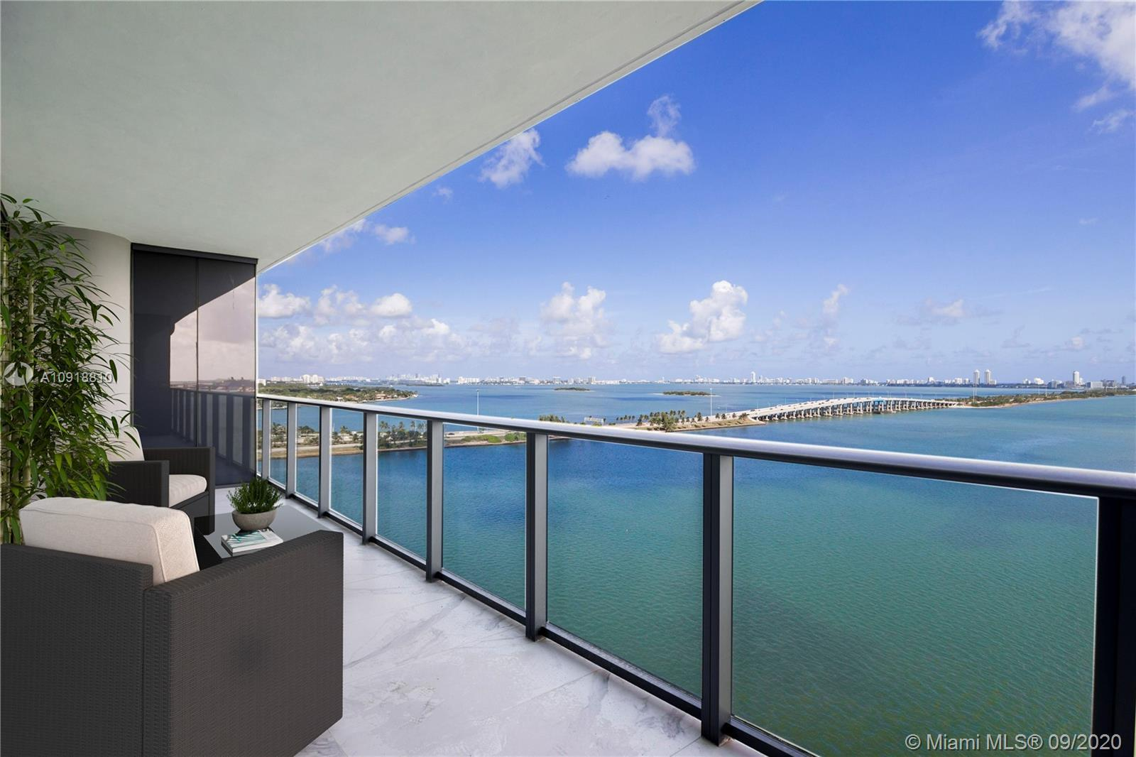 Live in luxury at this modern 3 bedrooms plus Den apartment with a private elevator that opens direc
