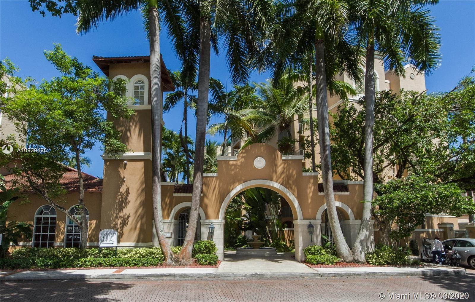 Condo in gated community at Yacht Club in Aventura; small walking distance to golf course. First cla