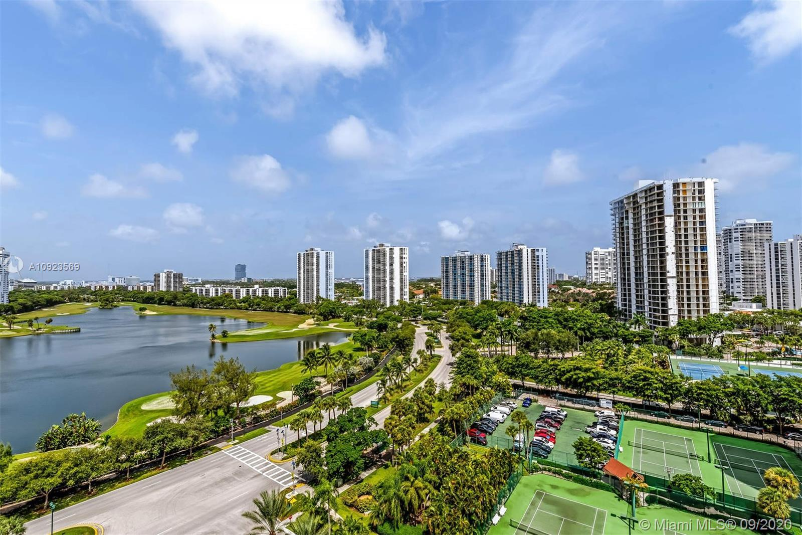 Move right into this spacious and updated 3 bed/2.5 bath unit at The Landmark Condominium. This 14th