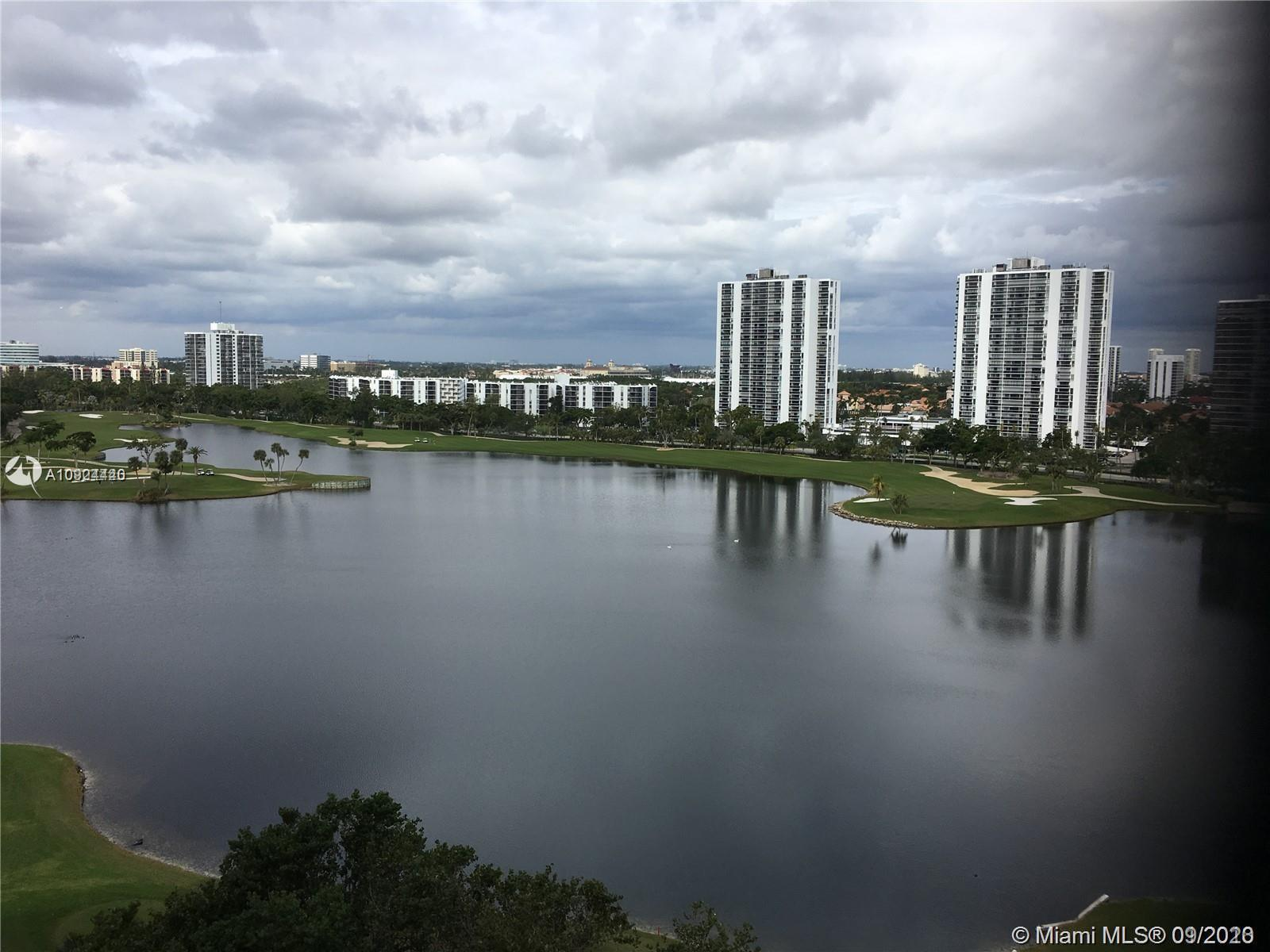 BEAUTIFUL AND IMMACULATE READY TO MOVE IN CONDO IN PRESTIGIOUS TURNBERRY VILLAGE. MAGNIFICENT VIEWS