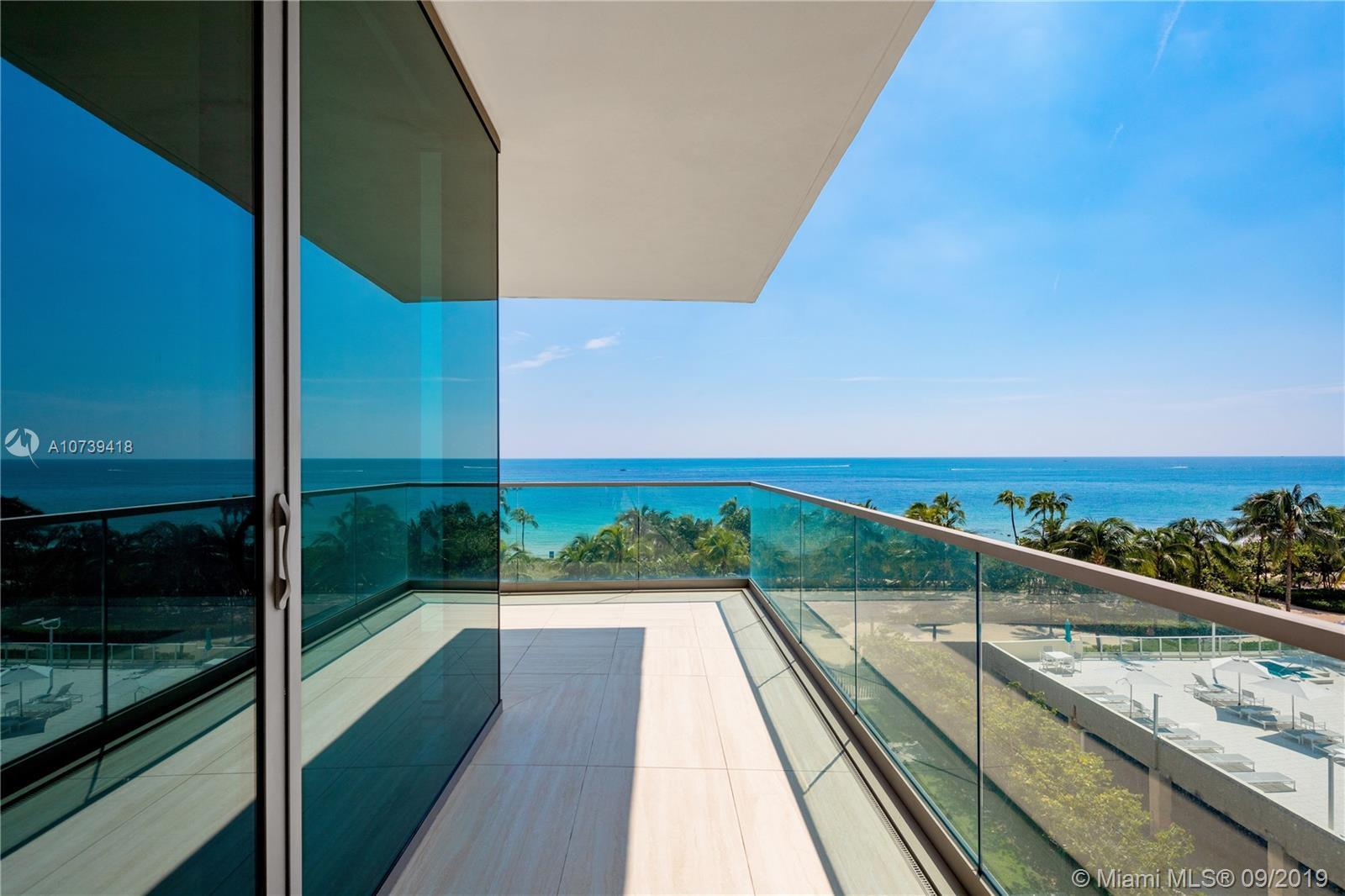 Perfect sized beachfront condo at exclusive Oceana Bal Harbour. Downsizing from the sale of a big pr