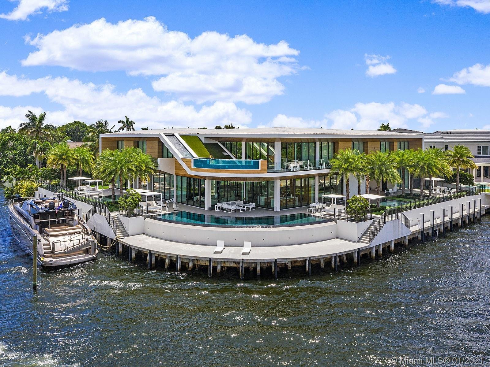 A fresh departure from expected Boca Raton luxury, this spectacular contemporary residence on an ove
