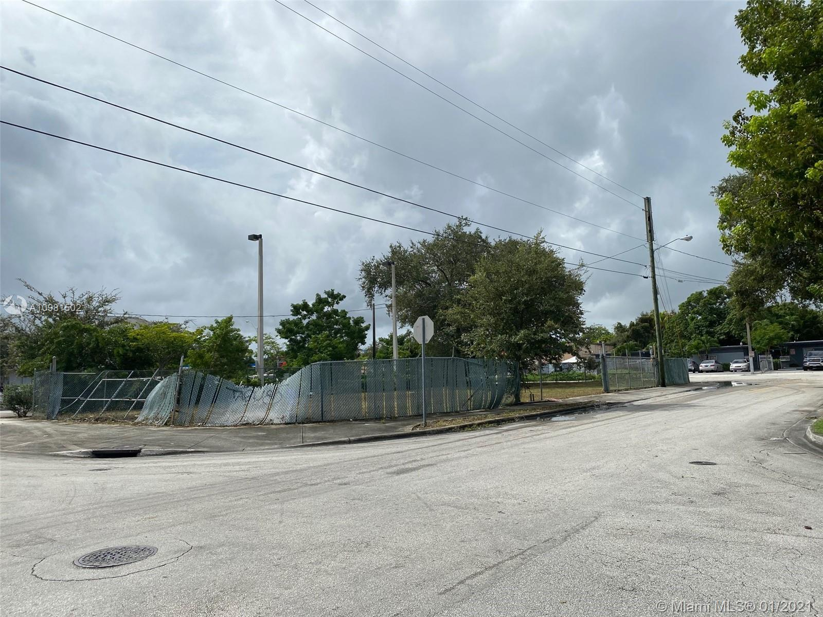 Vacant lot FOR SALE directly fronting North Miami Avenue and NE 55th Street in the heart of Little H