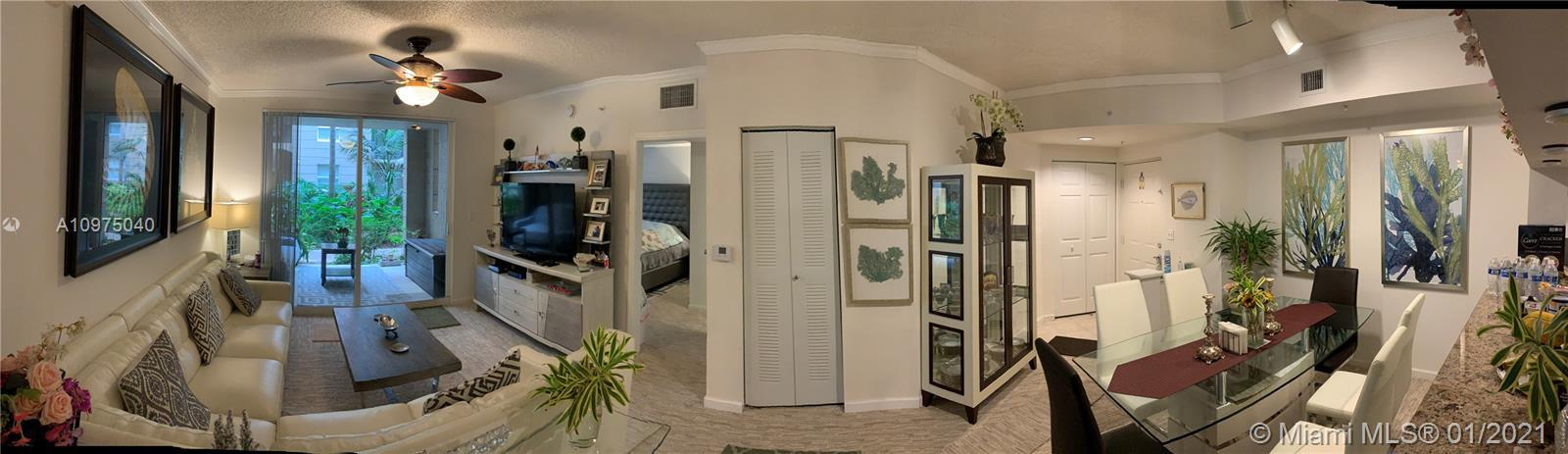 First Floor Beauty! Two bed +2 bath1024 ft.² Condo in the Heart of World-Renowned Sunny Isles Beach!