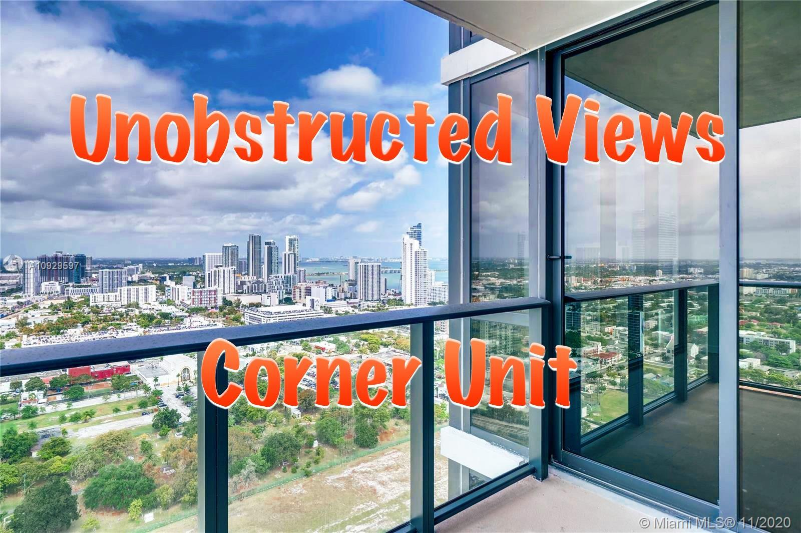 Beautiful corner unit with unobstructed views of the city and the bay.Turnkey 2/2 unit with a spacio