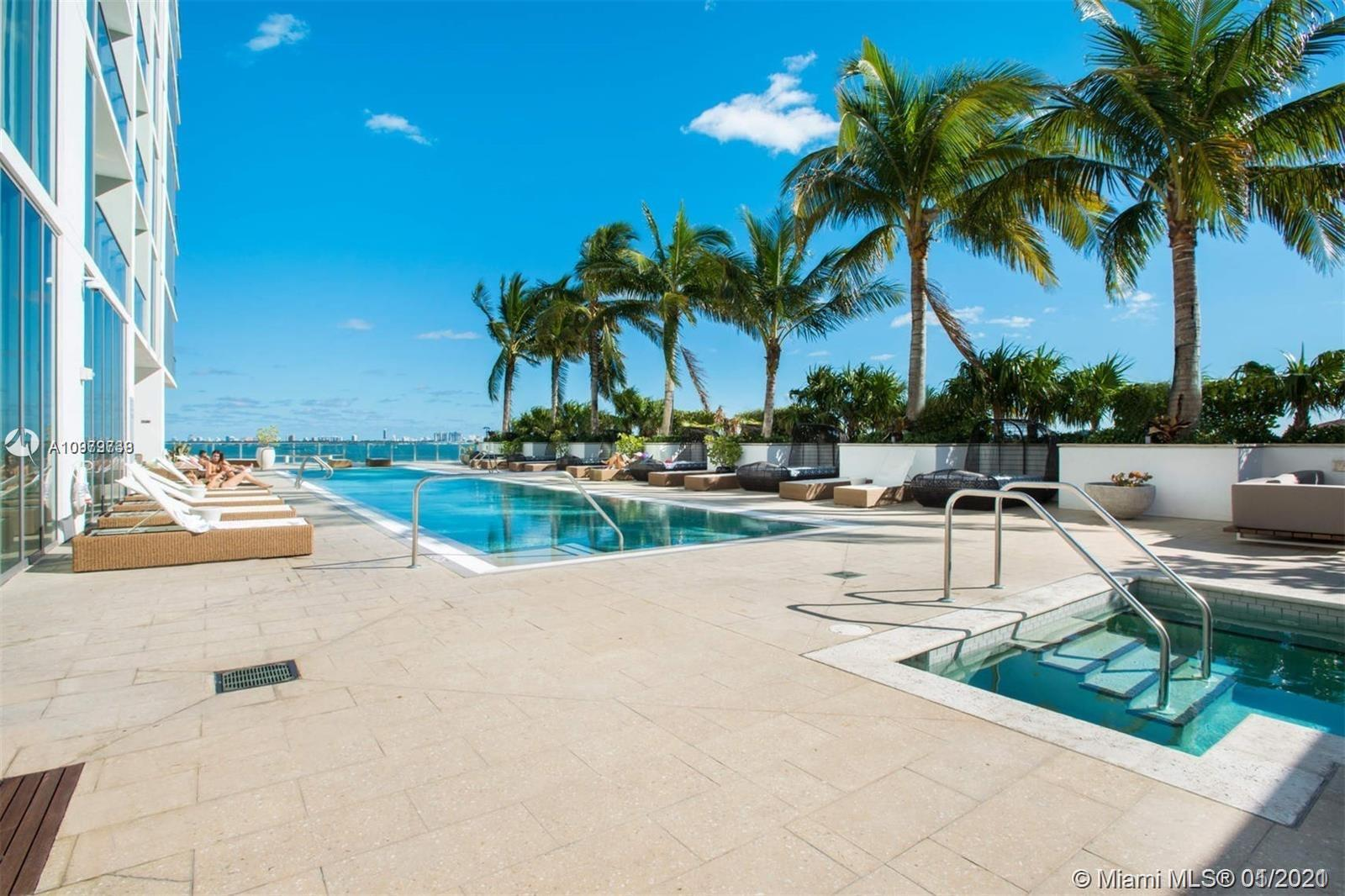 Beautiful apartment at Biscayne Beach Condo with amazing views towards the Bay of Miami.  Luxury liv