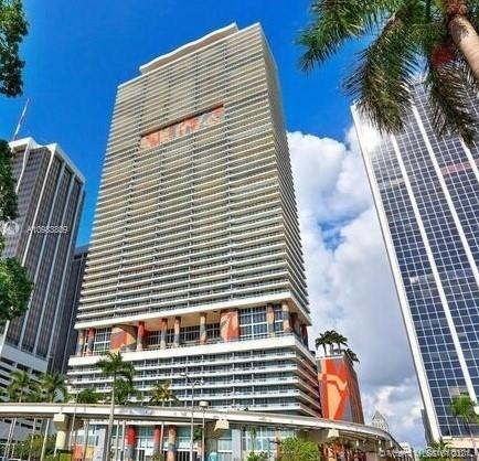 50 Biscayne is the iconic building in every picture of the Miami downtown's  skyline, The unit is a