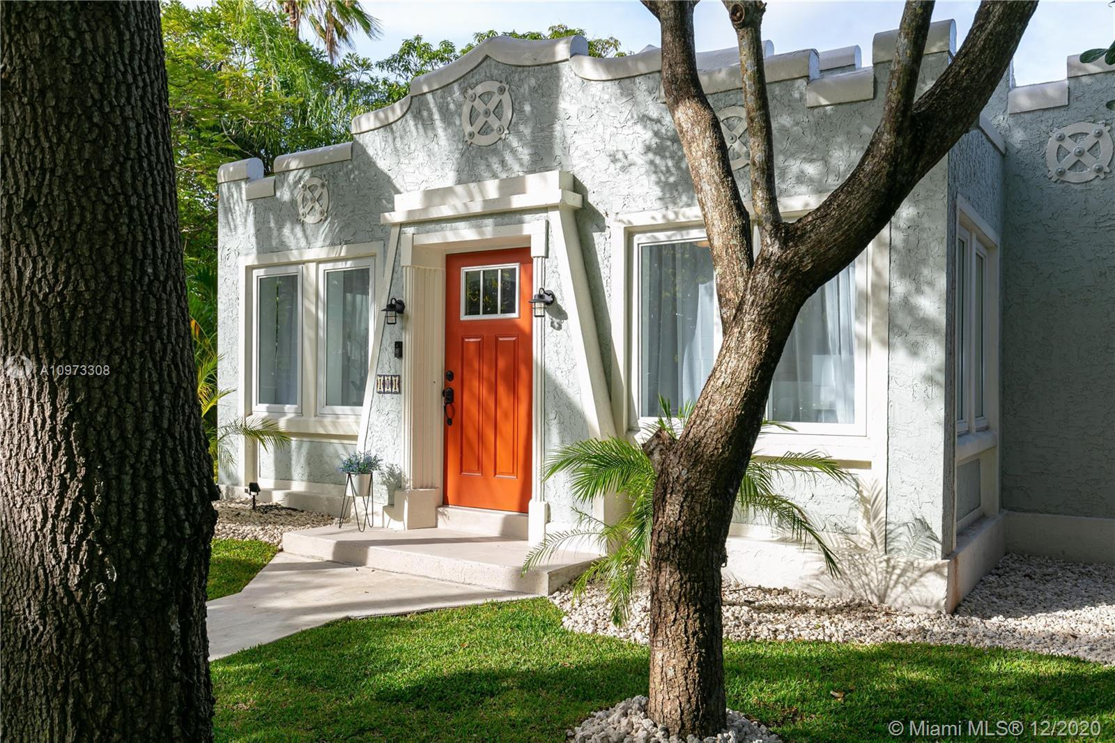 Beautifully-restored 1926 Spanish Mission style bungalow located in Historic Buena Vista East. 3 bed