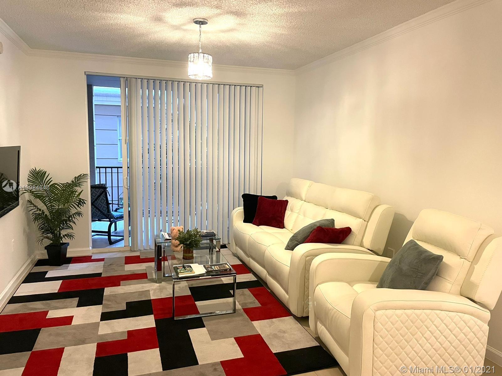 Amazing 2 bedroom 2 bath apartment with split plan located in main building on the 2nd floor. Unit i