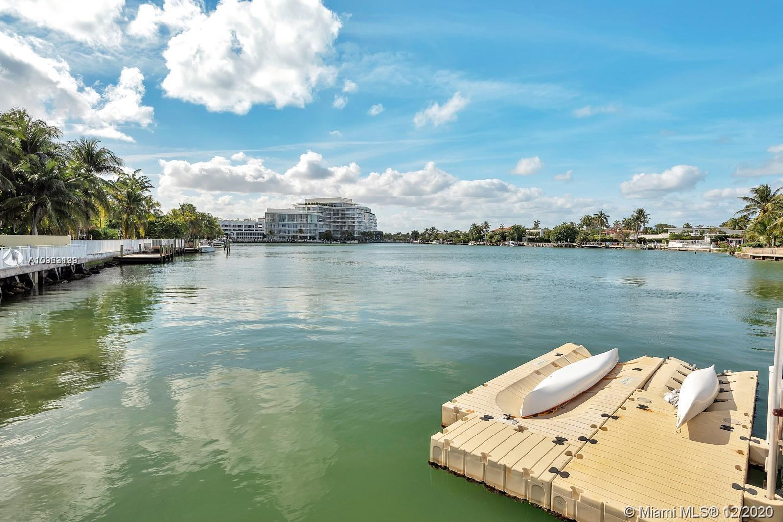 Rare water front find for boat lovers! gorgeous apartment with direct access to your private dock sp