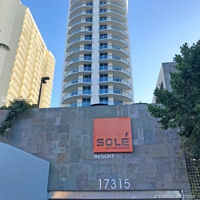 SOLE is an unique oceanfront hotel building right on the ocean in Sunny Isles. Own and rent this cor