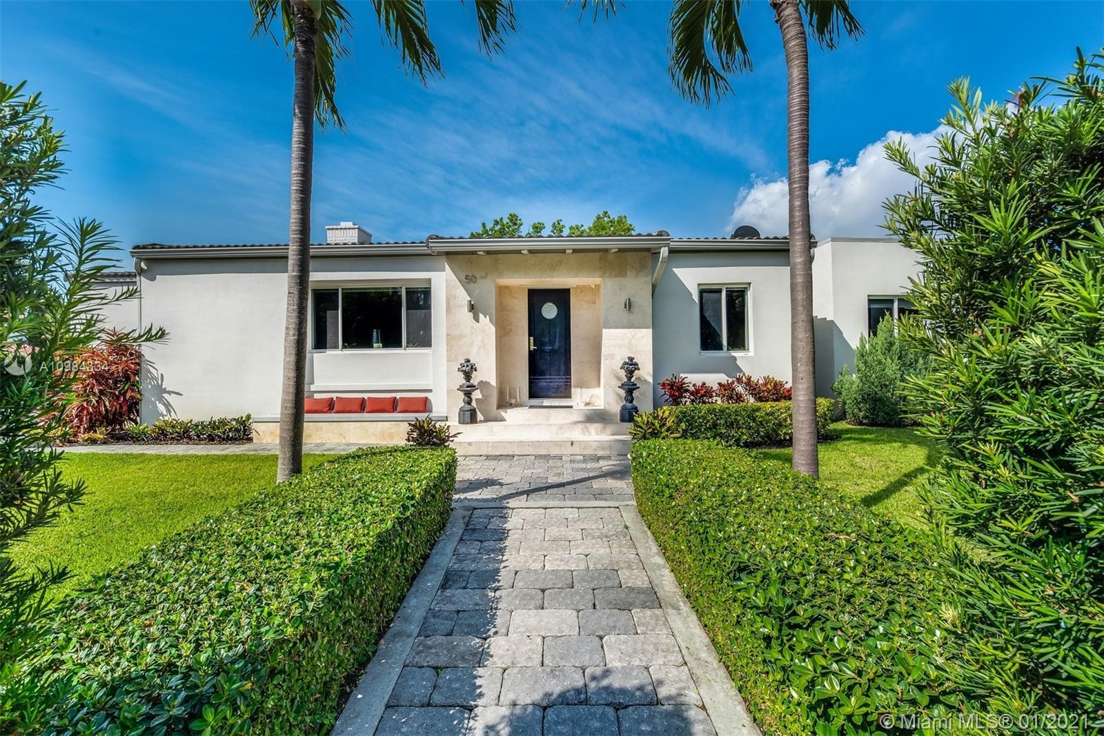 This stunning home sits on a corner lot and has been recently renovated in and out with every attent