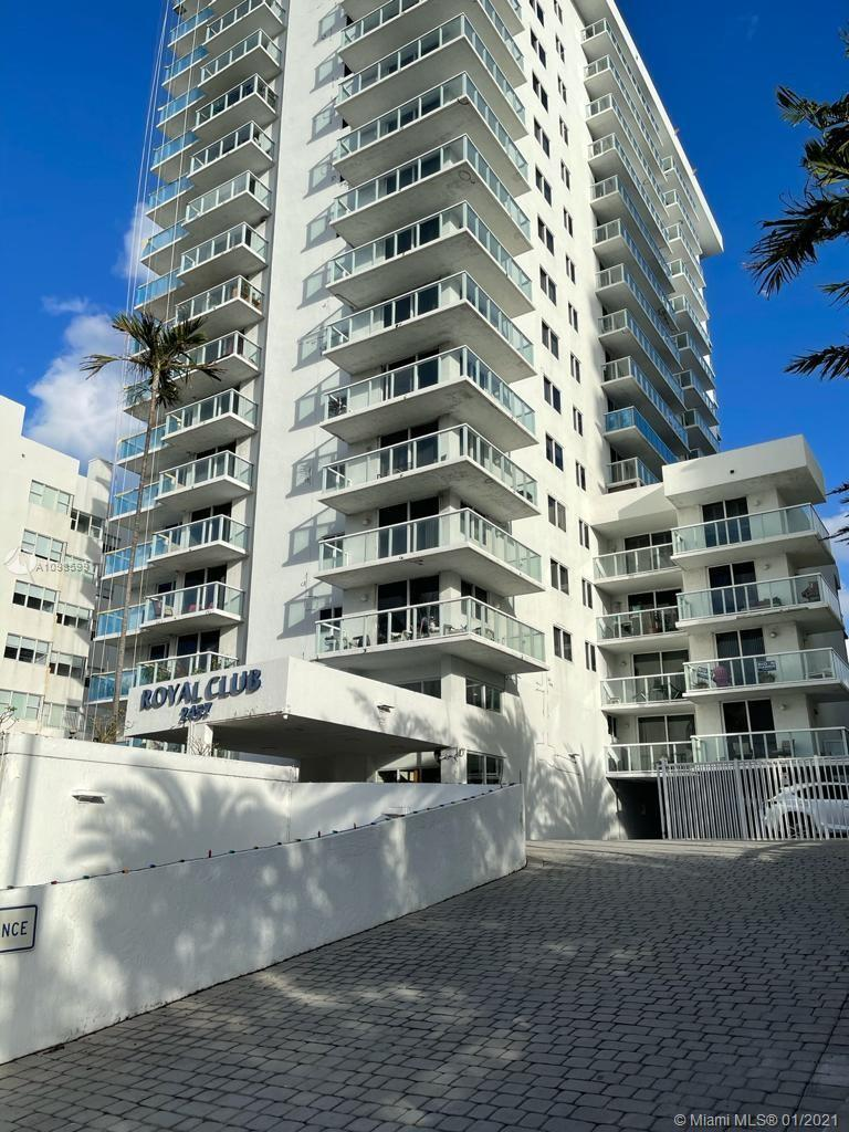 Stunning oceanfront 2/2 fabulous 1389 sq ft corner beach residence in prime upcoming area. Sought af