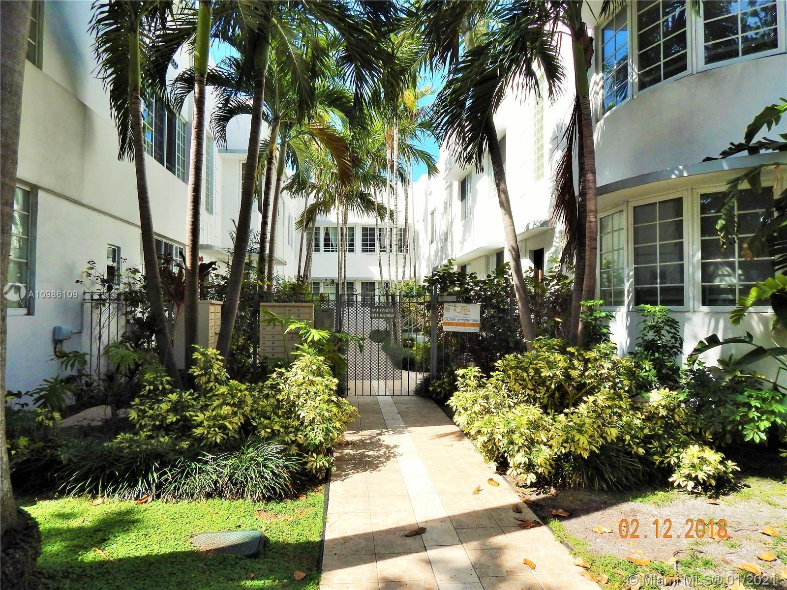 Completely renovated in white porcelain tile throughout with updated kitchen and bath. Kitchen featu