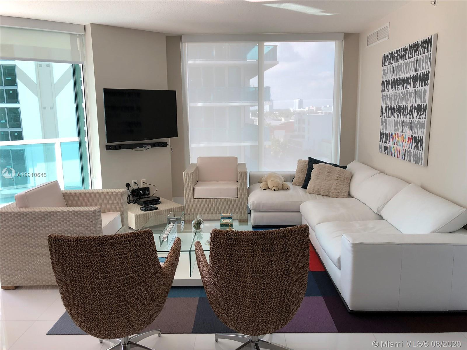 Great 3 Bed/2 Bath unit at St Tropez III offering floor-to-ceiling, high-impact glass windows, slidi