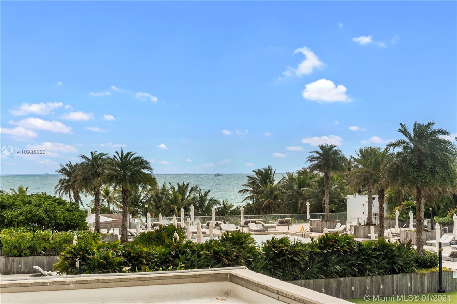 This is a must see. Walk in and be amazed at the tropical palm trees and ocean views. Don't be deter