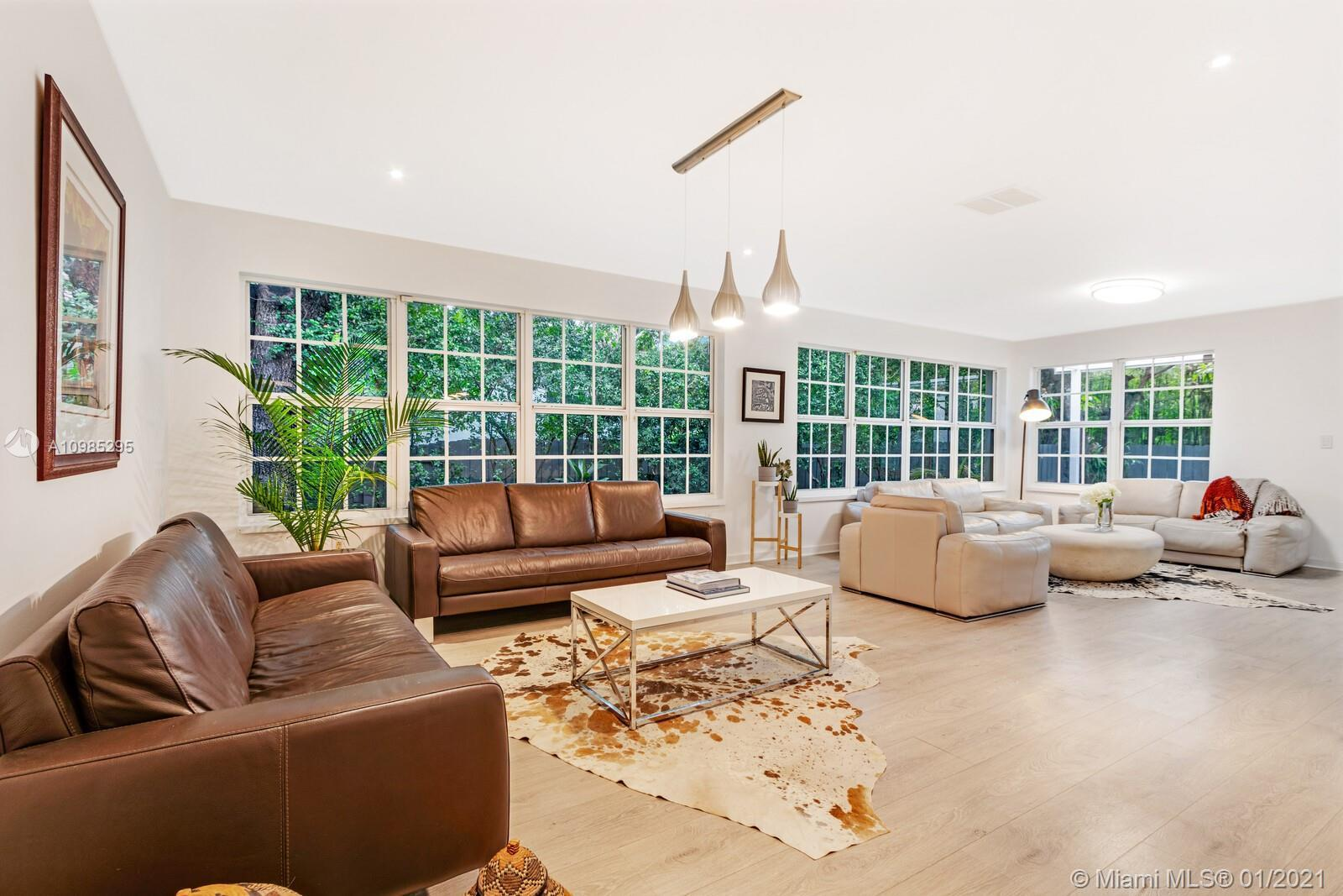 Charming Fully Renovated 3 bed/2 bath in the heart of Miami Shores. Close walking distance to downto