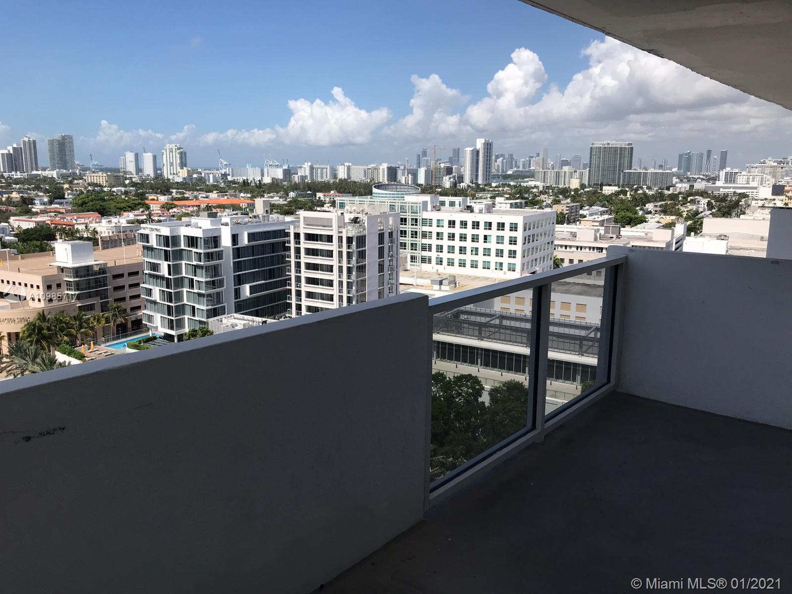 Attention rare find at Decoplage, 16th fl studio w/balcony, spectacular sweeping South West East vie
