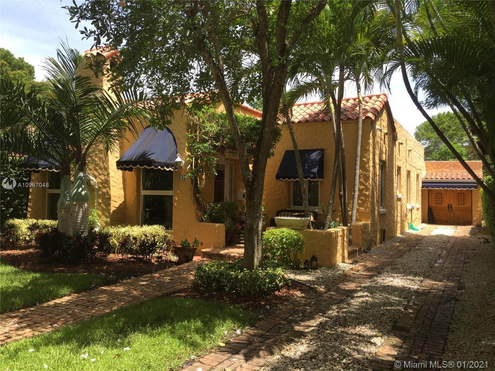 Beautiful & charming old Spanish Mediterranean home completely renovated for today's comfort and con