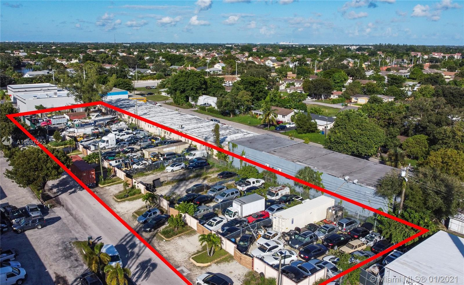 FOR SALE VACANT LAND. ZONED: B-3  Heavy Business District. Surrounded by warehouses. 2 lots side by