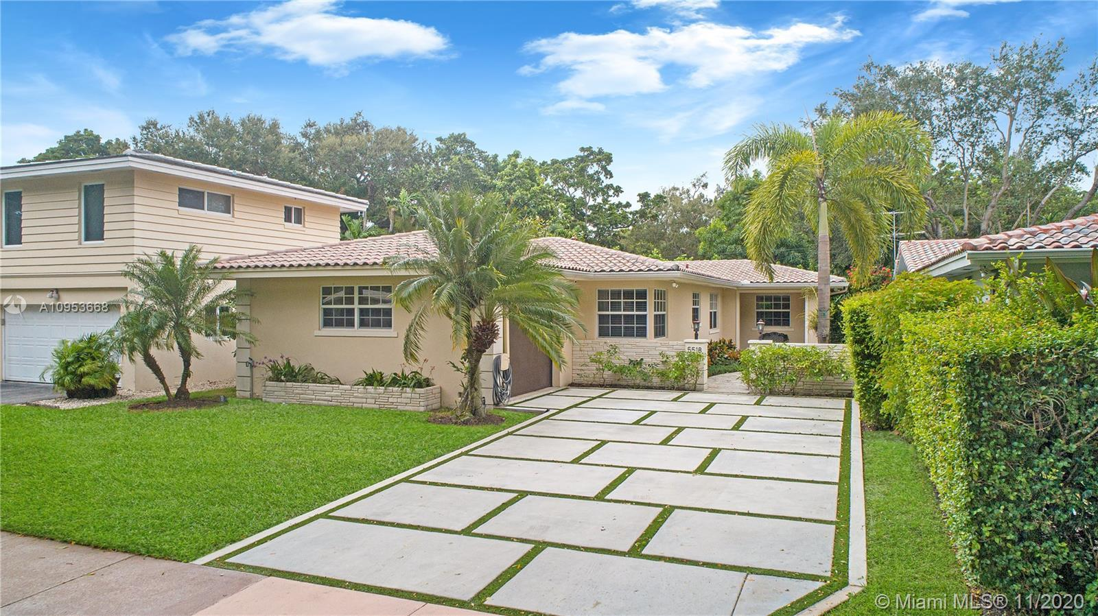 Don't miss this ready to move in 3BR/2BA charming Coral Gables home. Perfect for a family looking fo