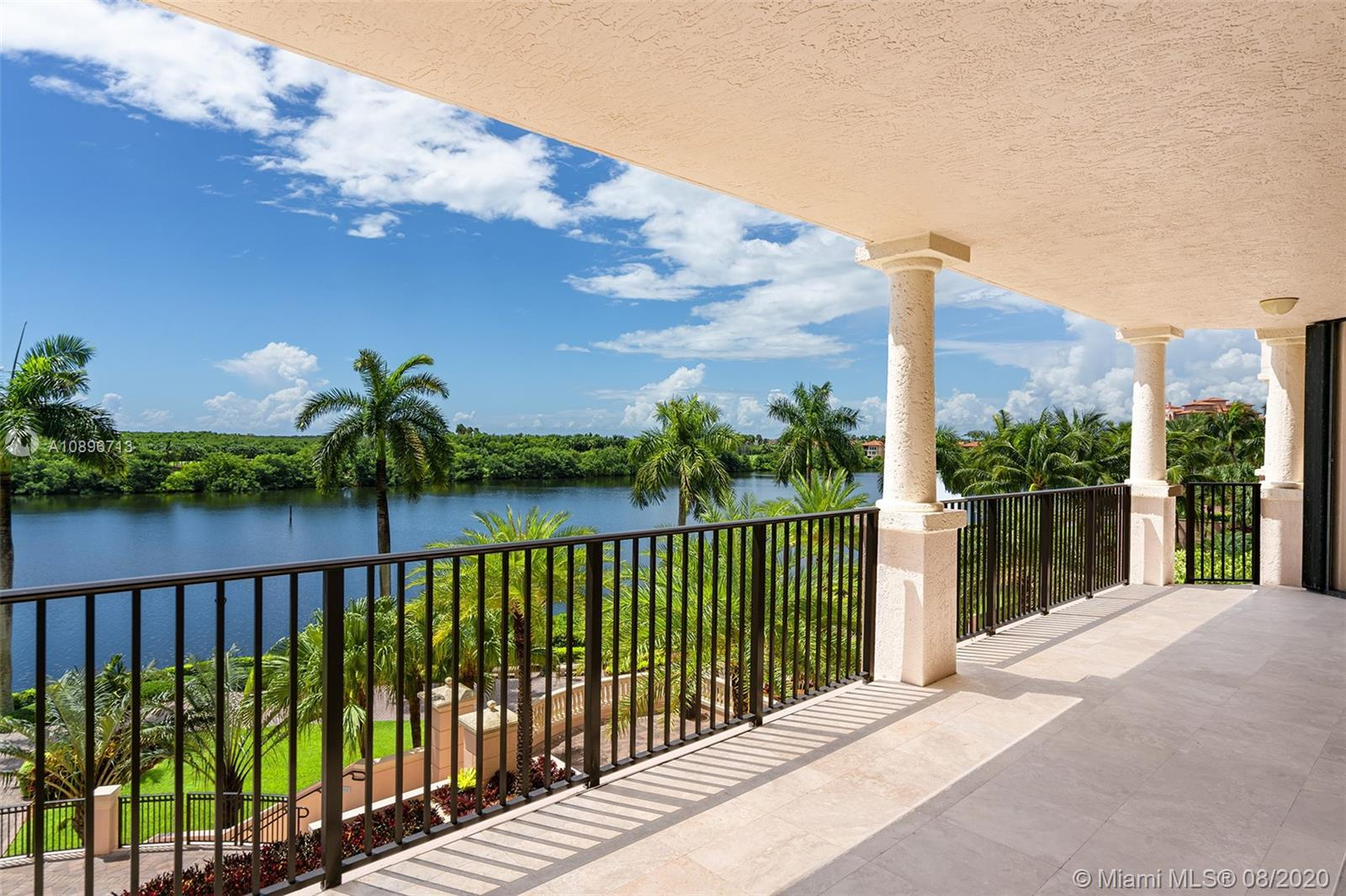 Paradise found! Located in the Siena building of the prestigious Deering Bay Yacht & Country Club th