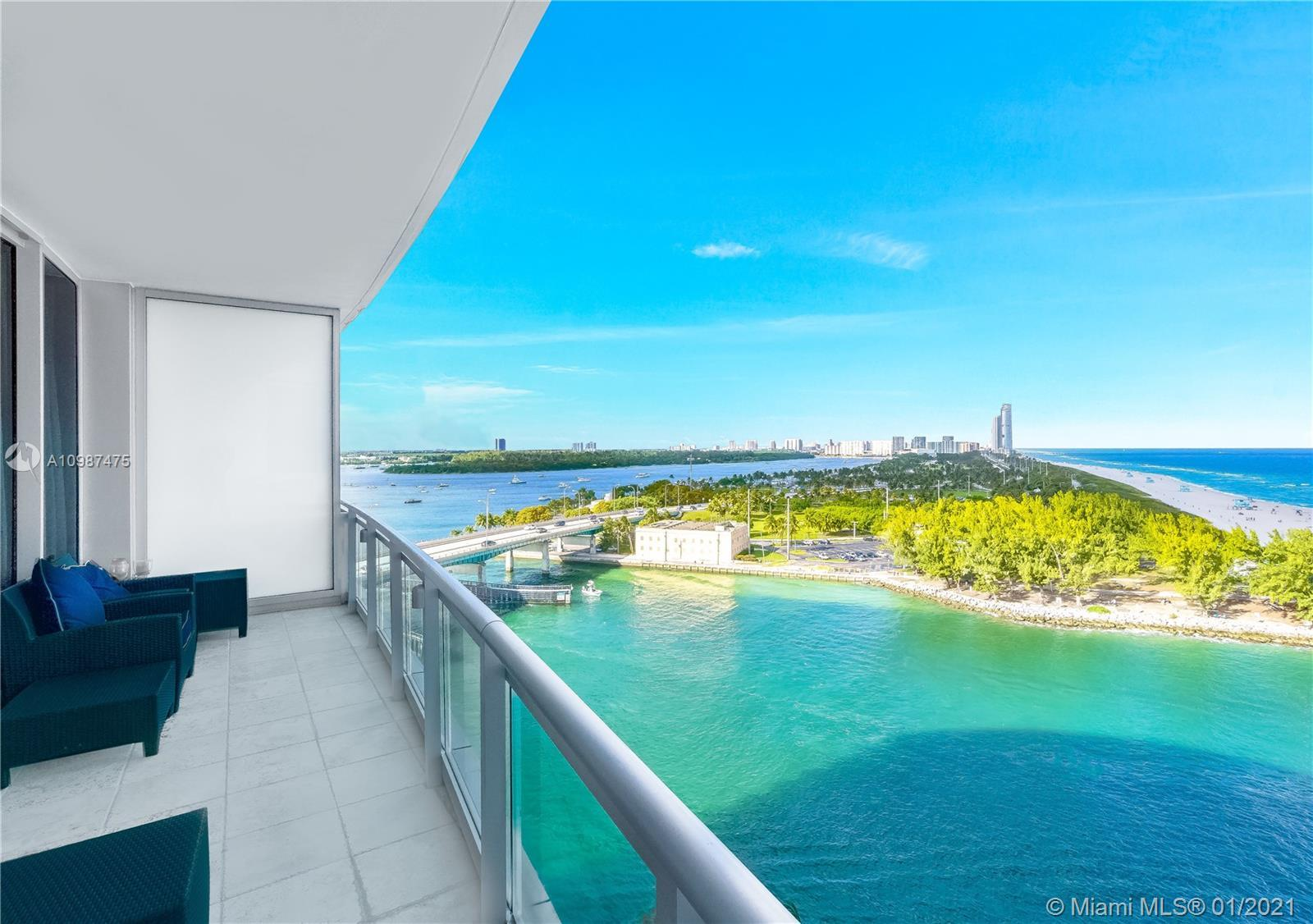 One of the kinds Oceanfront Residence reflecting a sophisticated decoration and design. Private elev