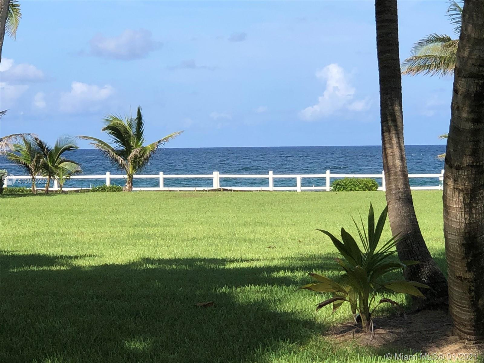 DON'T MISS OUT ON THIS Spectacular views of the ocean and garden!! Bright and Beautiful! Completely