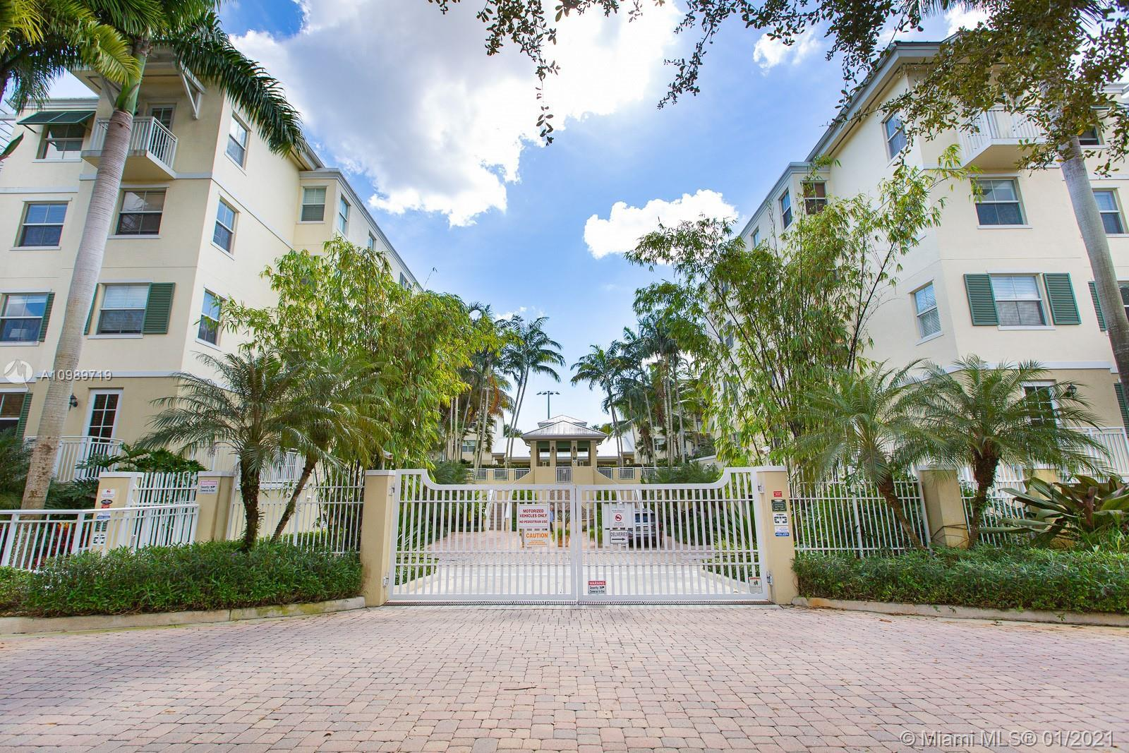 Ideally located Reserve one-story 4 bedroom unit overlooking a park and greenery from the very priva