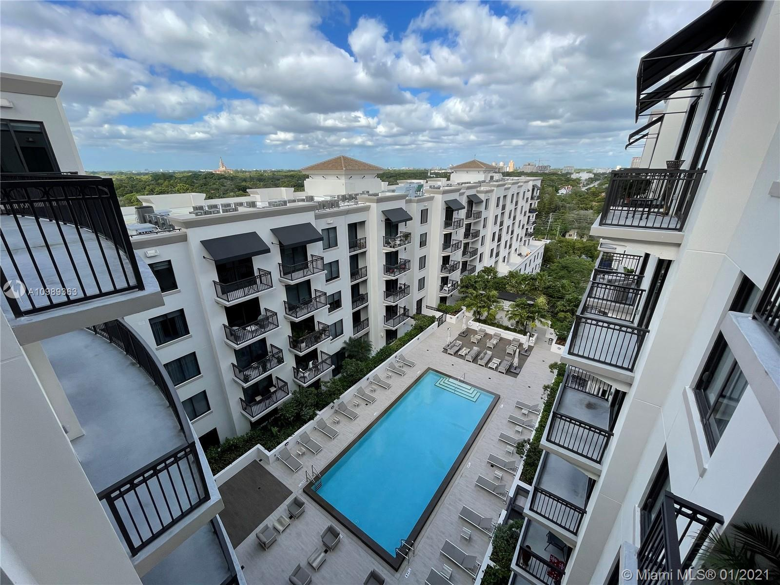 Centrally located in Miami's favorite neighborhood, this luxury Upper Penthouse 2 bed 2,5 bath offer