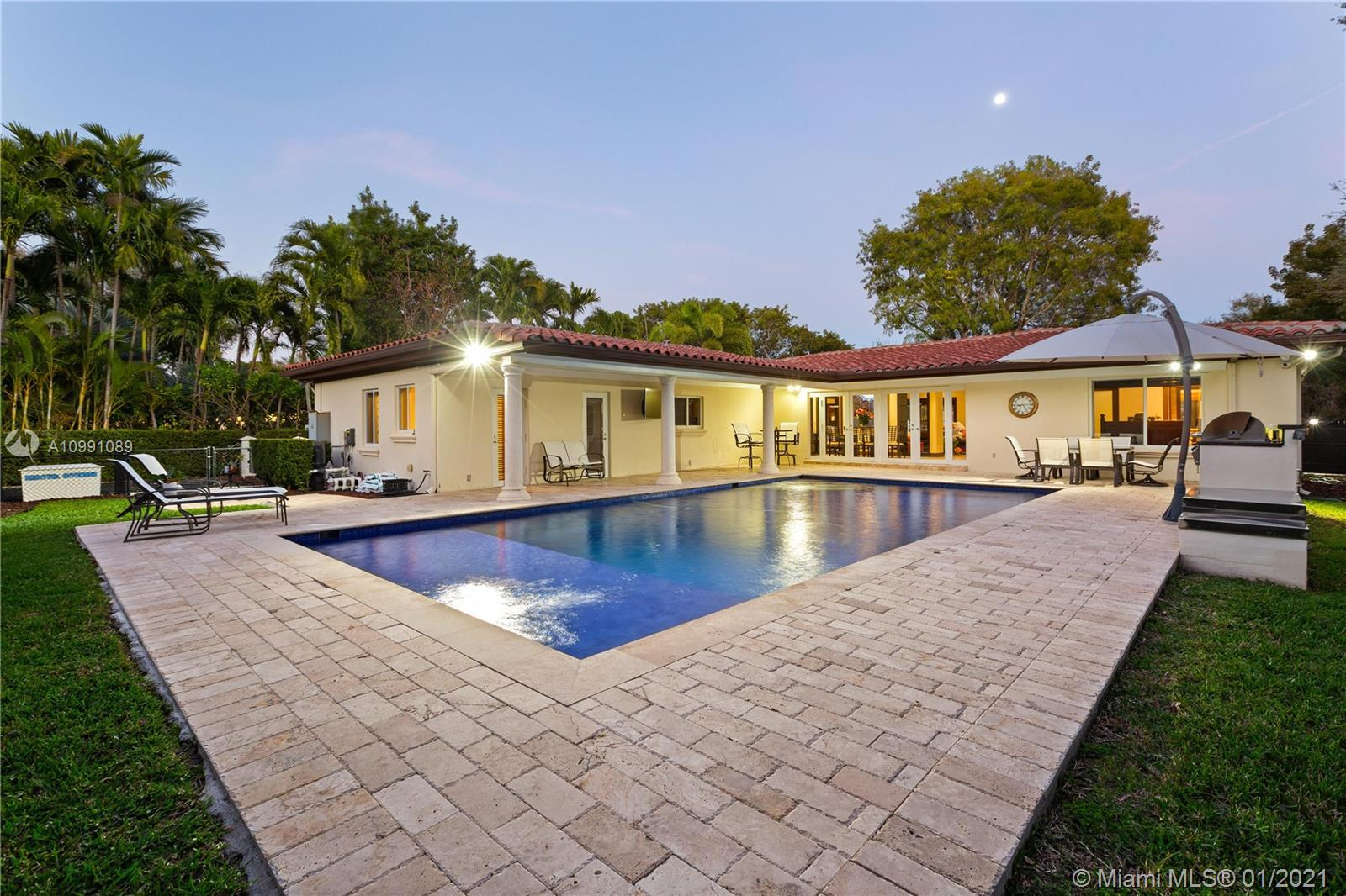 Step into perfection! Spectacular 4-bedroom, 3.5-bath split plan home In the heart of the Gables. Se