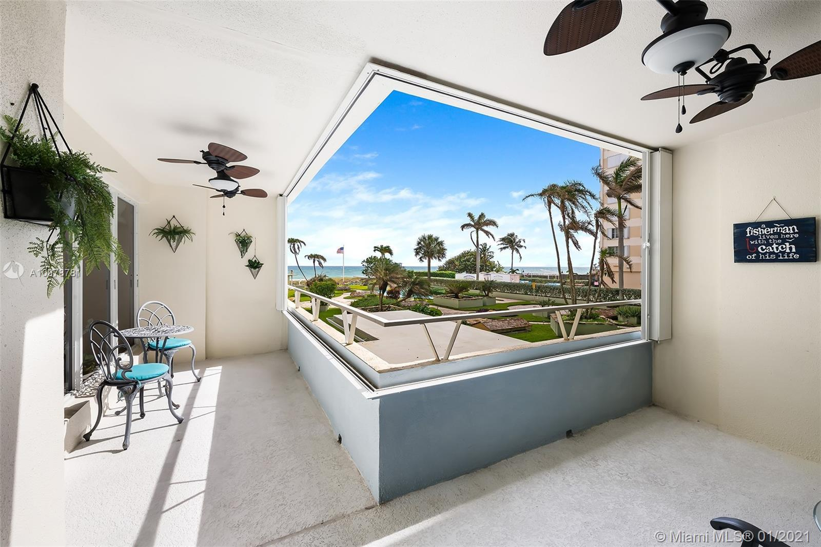 RARELY AVAILABLE! Beautiful 3 bedroom, 3 full bath direct ocean view condo! This unit has been compl