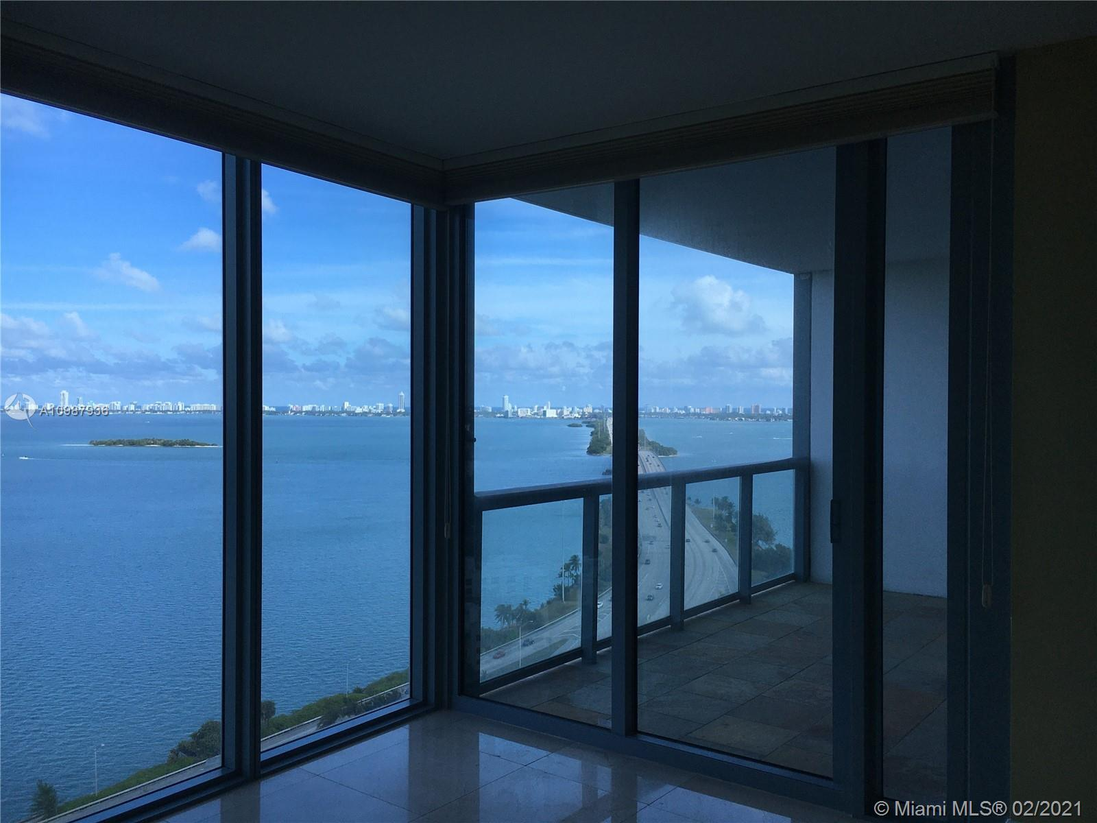 Spectacular panoramic views, ultra modern condo building in Edgewater! 2BR, 2.5 Bath, 1158 SF, High