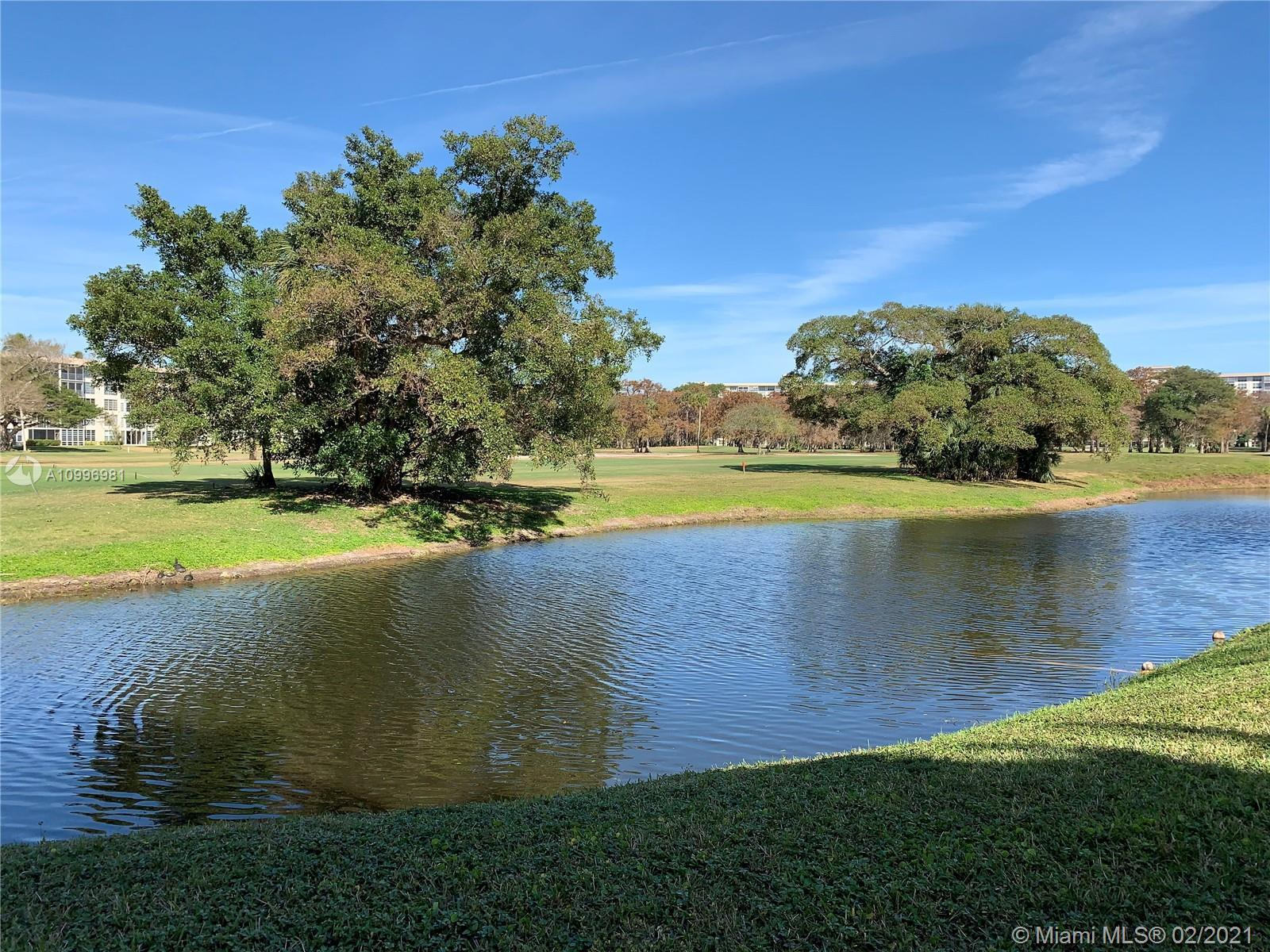 A great opportunity to own in renowned Palm Aire! Beautiful golf course view family condo in the new