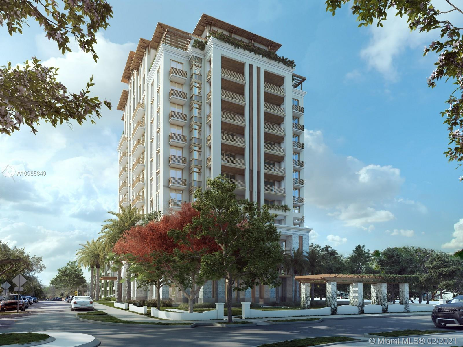 Situated on the private side of Coral Gables, Villa Valencia will feature 39 luxury condominium resi