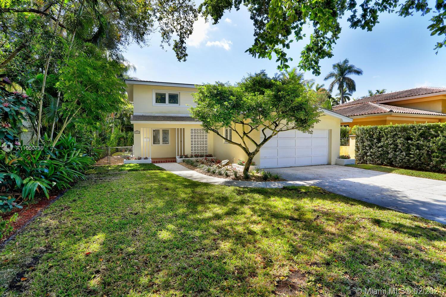 Wonderful home situated in the heart of Coral Gables! This 4 BR/3 BA 2-story home has been recently