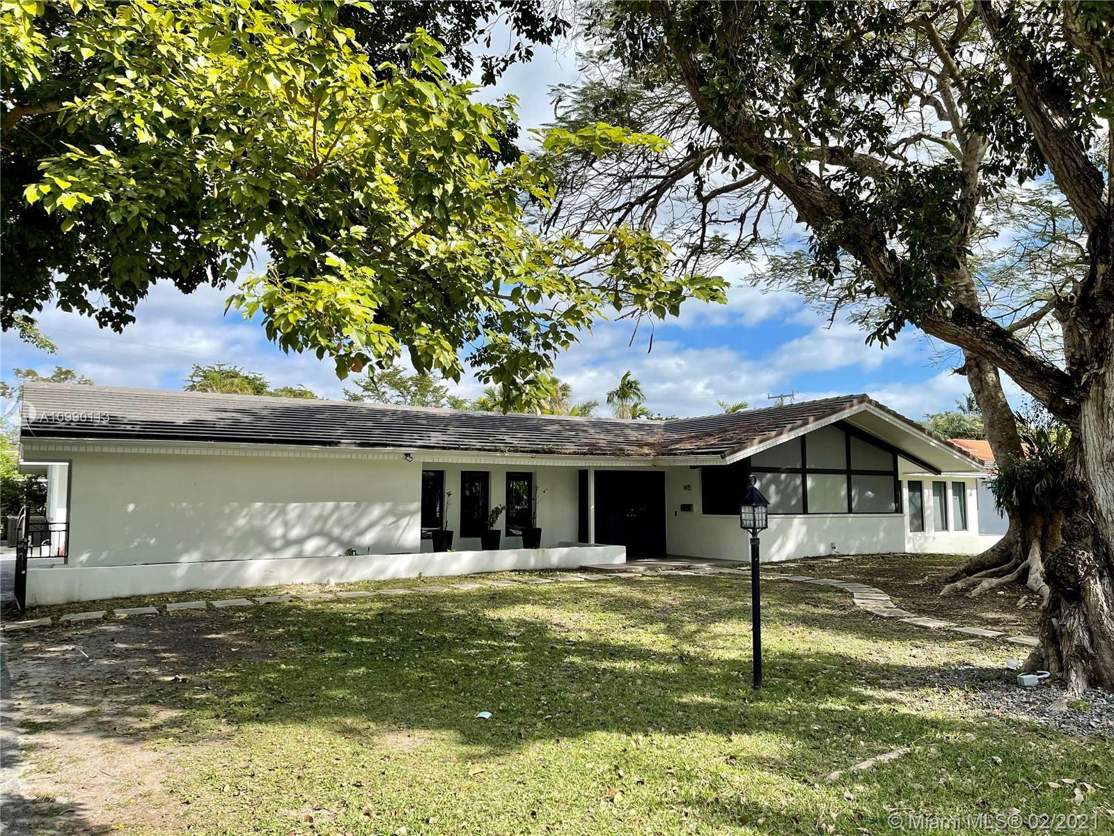 Sought after Gables by the Sea location! This amazing estate beautifully remodeled in this prestigio