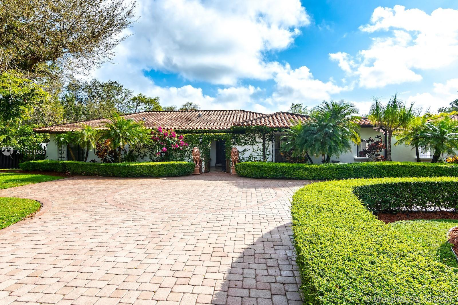 MJ Estates is proud to present this amazing and secluded one story home located in the sought after