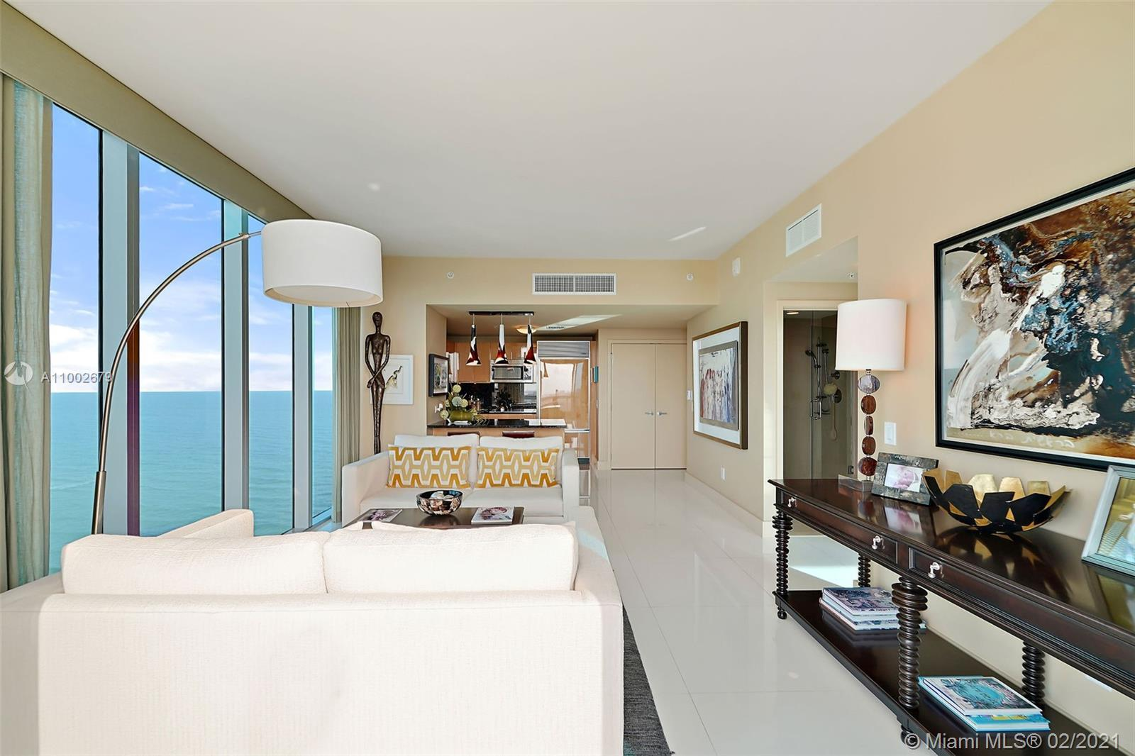 BEAUTIFUL INTRACOASTAL, SUNSET, CITY and PARTIAL OCEAN views from 14th floor in prestigious North To