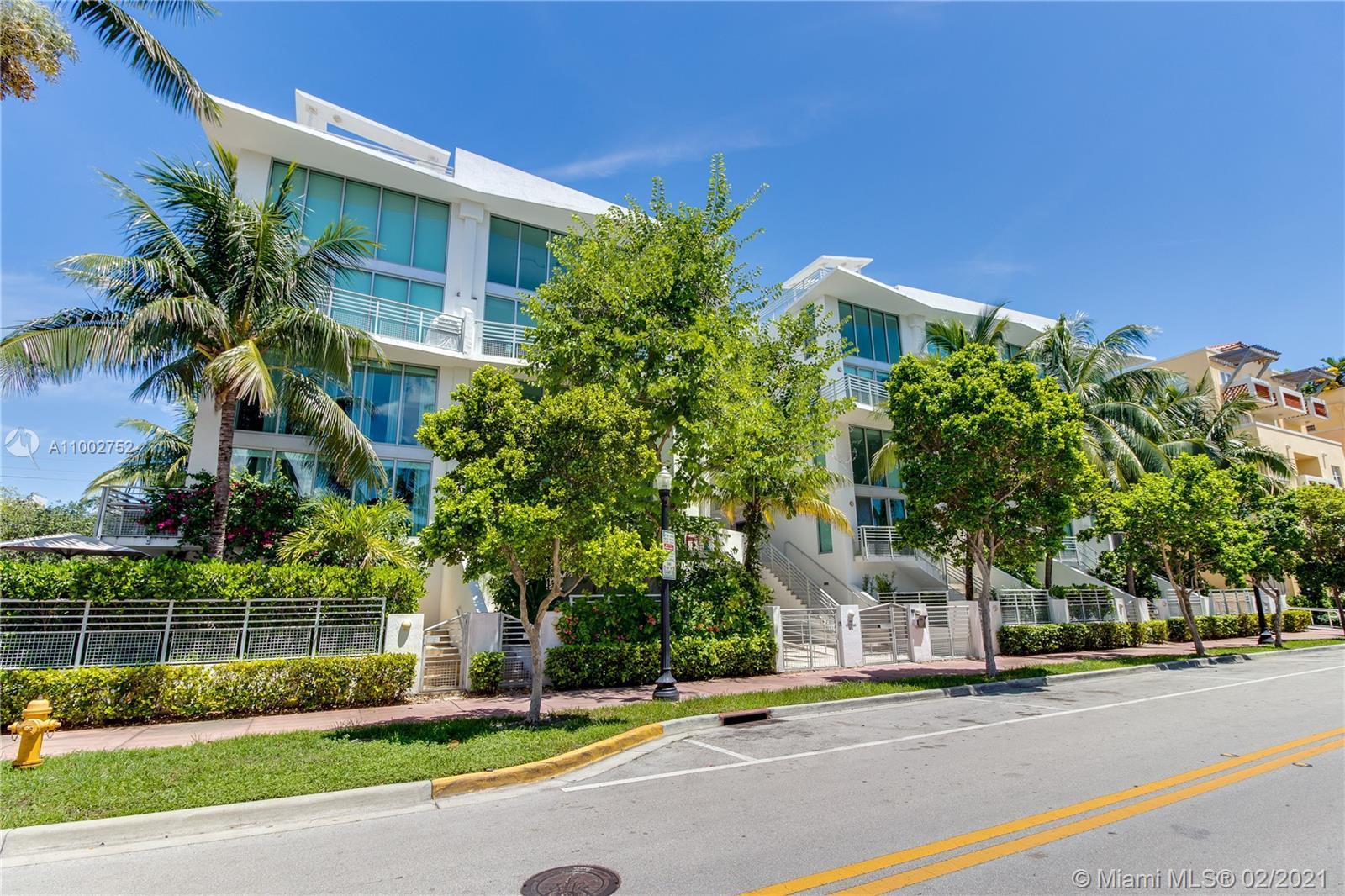Brilliantly remodeled Penthouse in the Absolute Lofts, located in South Beach's most sought-after ne