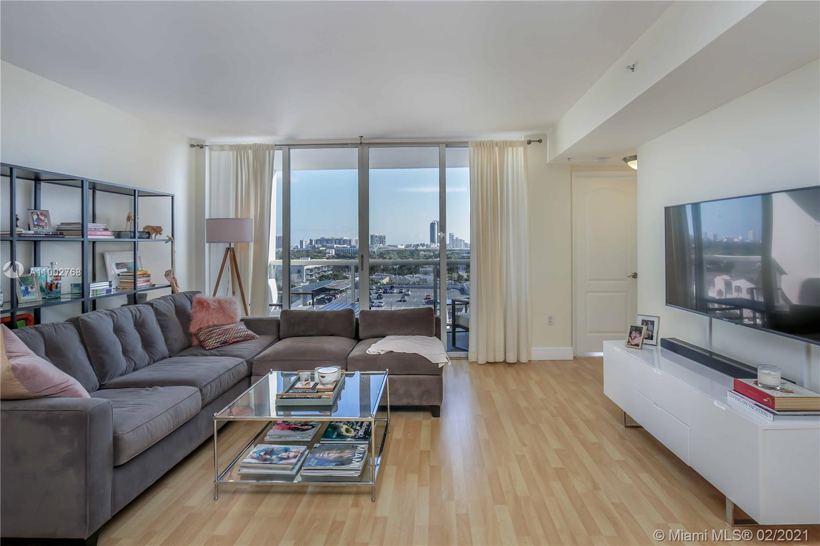 LOWEST PRICED 2 bedroom in Sunset Harbour Condominiums! This gorgeous corner unit offers east and we