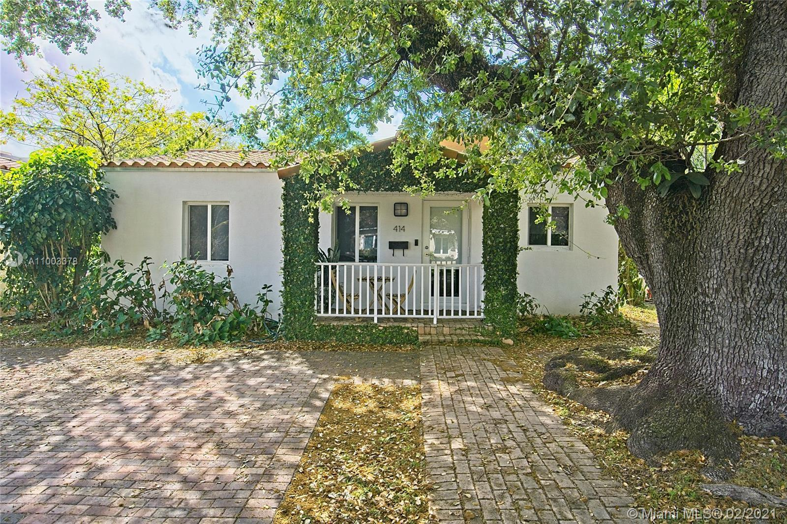 Meticulously maintained and renovated home in North Coral Gables! Updates include newer roof, recent