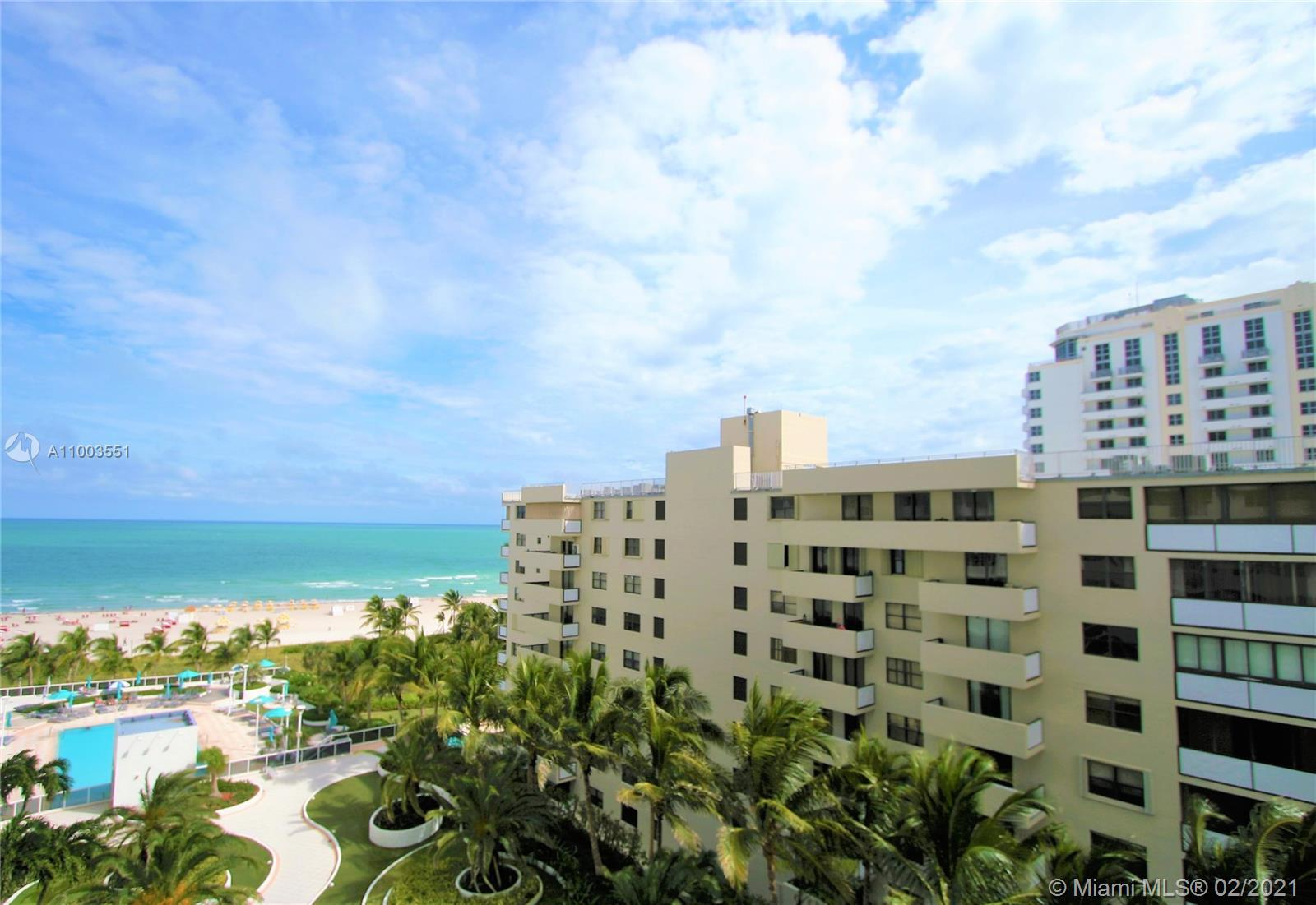 IMMACULATE UNIT AND DIRECT OCEAN VIEWS! SPECTACULAR PRIVATE BALCONY STARING DIRECTLY AT THE OCEAN AN