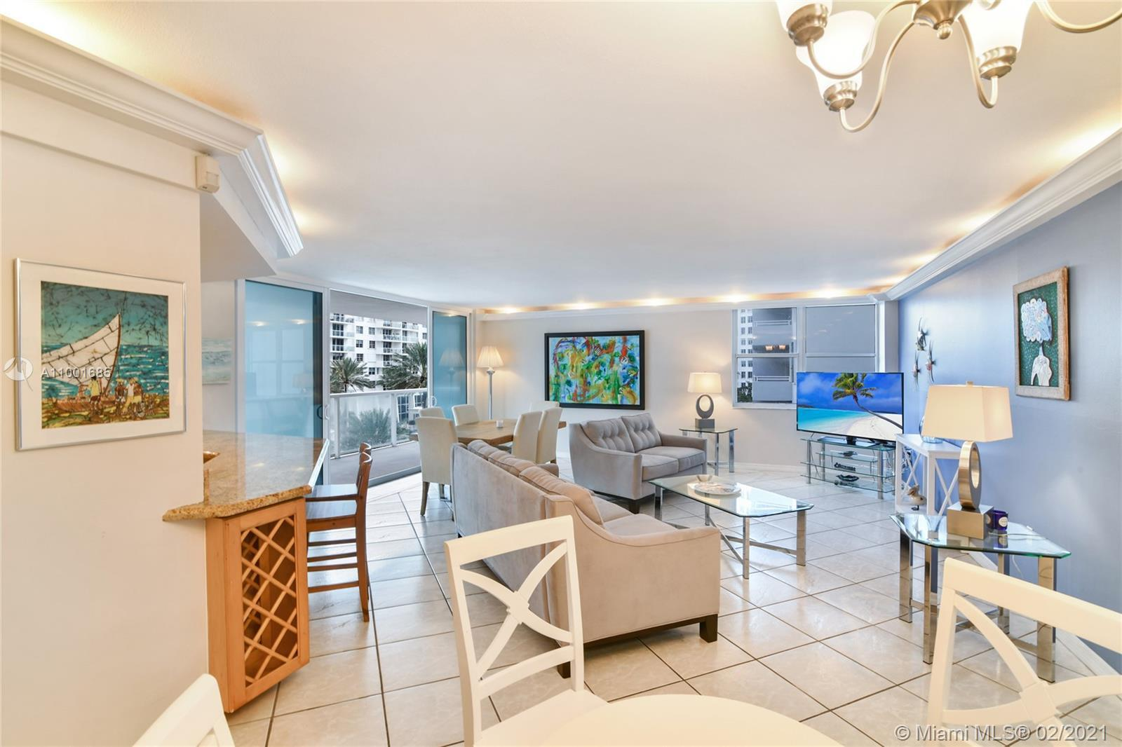 Fabulous offering . Royal Embassy Condo on intercoastal waterway and only one block away from the be