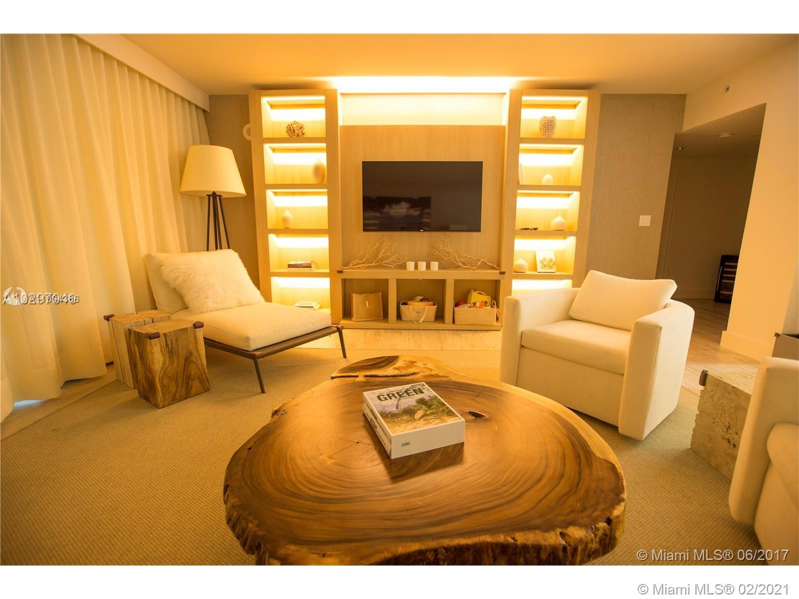 Turn Key Unit Furnished by Deborah Aguiar Ocean view at 1 Hotel & Homes South Beach! 1,605 square fo