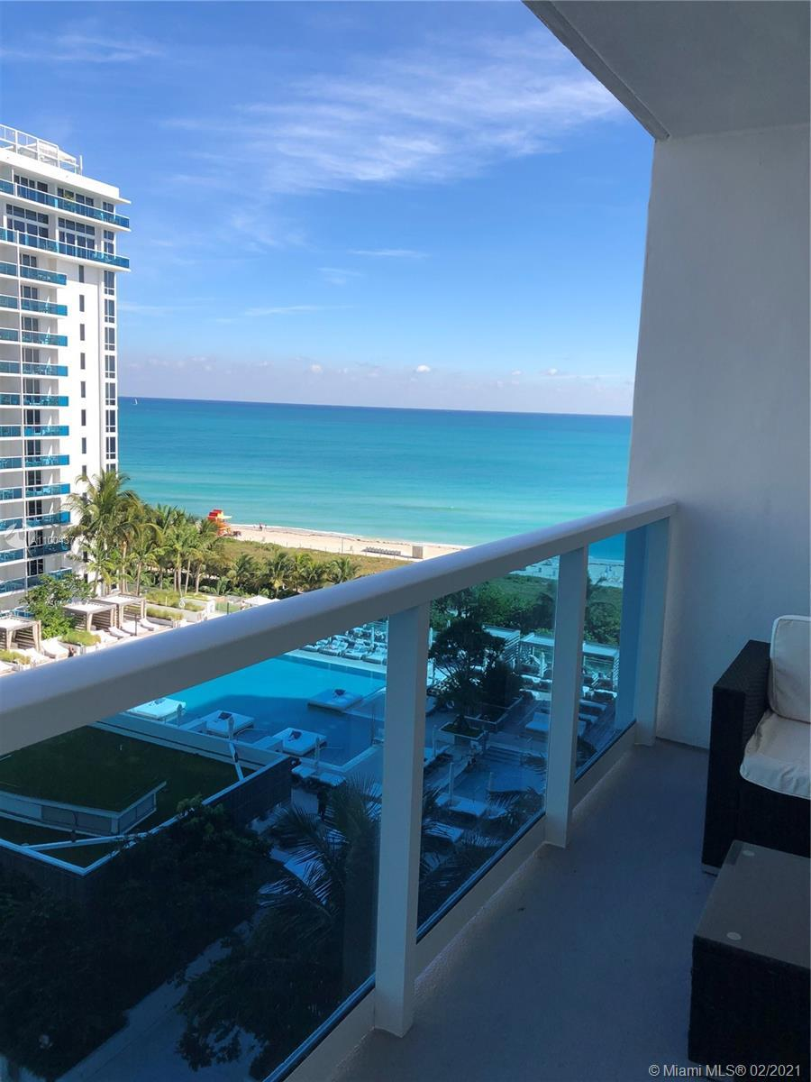 Great investment opportunity! Direct Oceanfront Overlooking the 1 Hotel Pool and Ocean, Roney Palace
